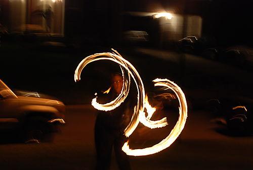Fire baton 052