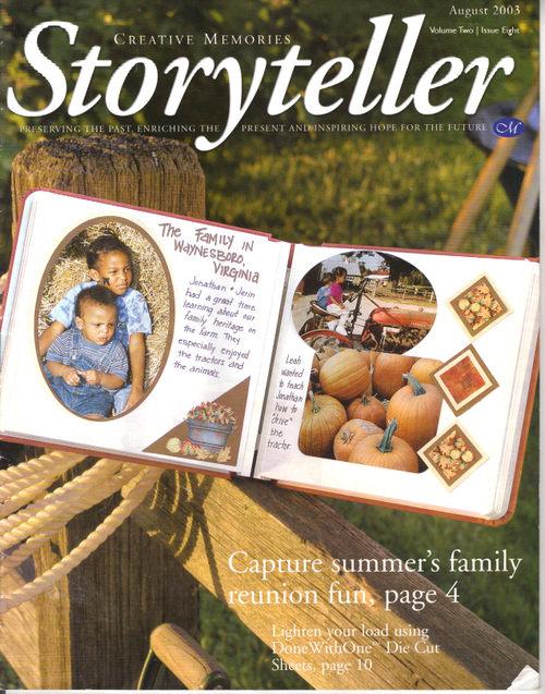 Storyteller - August 2003